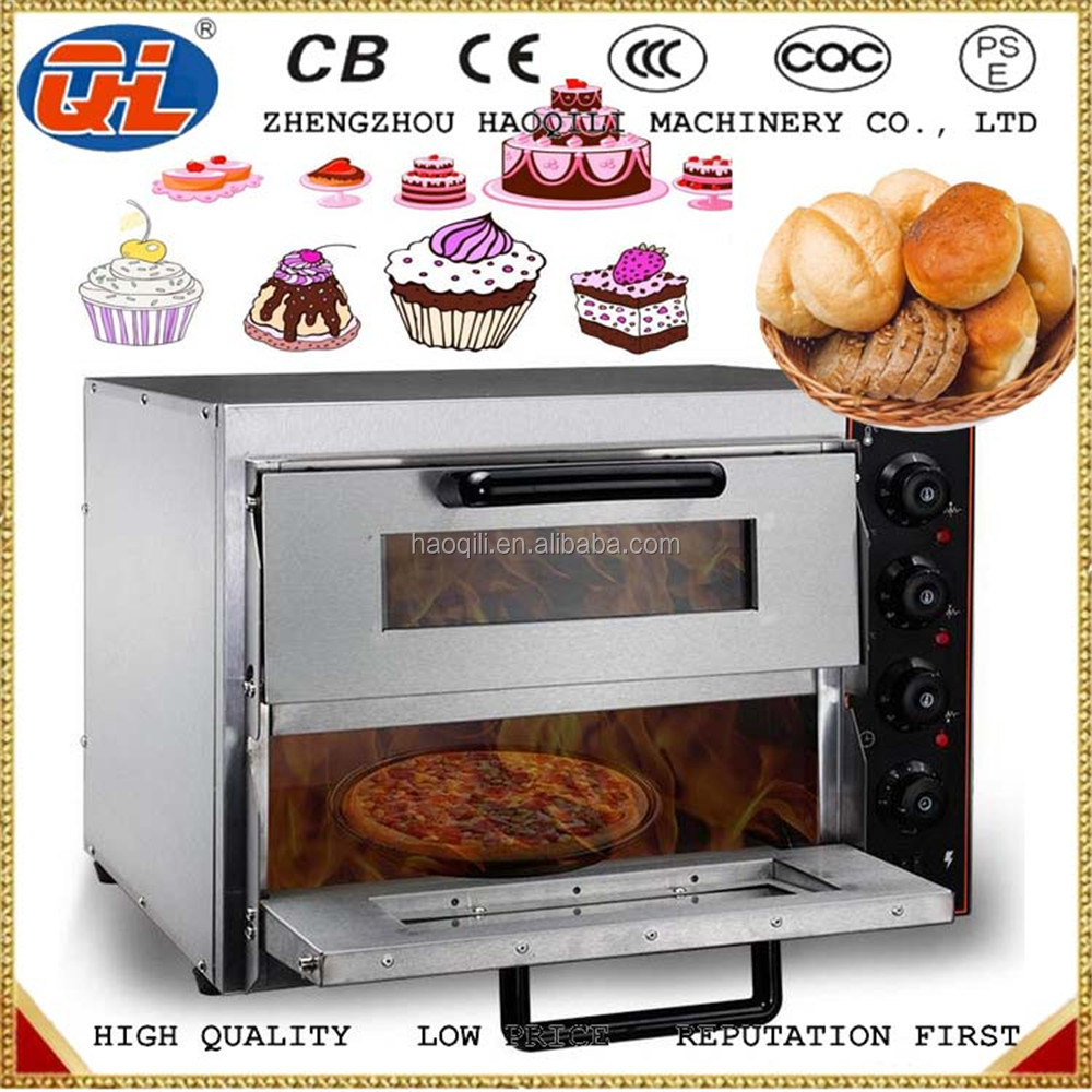 commercial double deck bakery cake oven prices Electric 10 trays large capacity bread oven