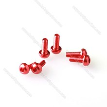 China manufacturer hot sales Anodized Conical/ countersunk head Aluminum Screws manufacturing machinery price
