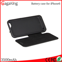 Rechargeable battery li-ion For iphone6 3500mah fast track battery rechargeable For 6s power bank