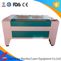 SH-G1290 sample wood leather plastic resin acrylic sheet laser machine