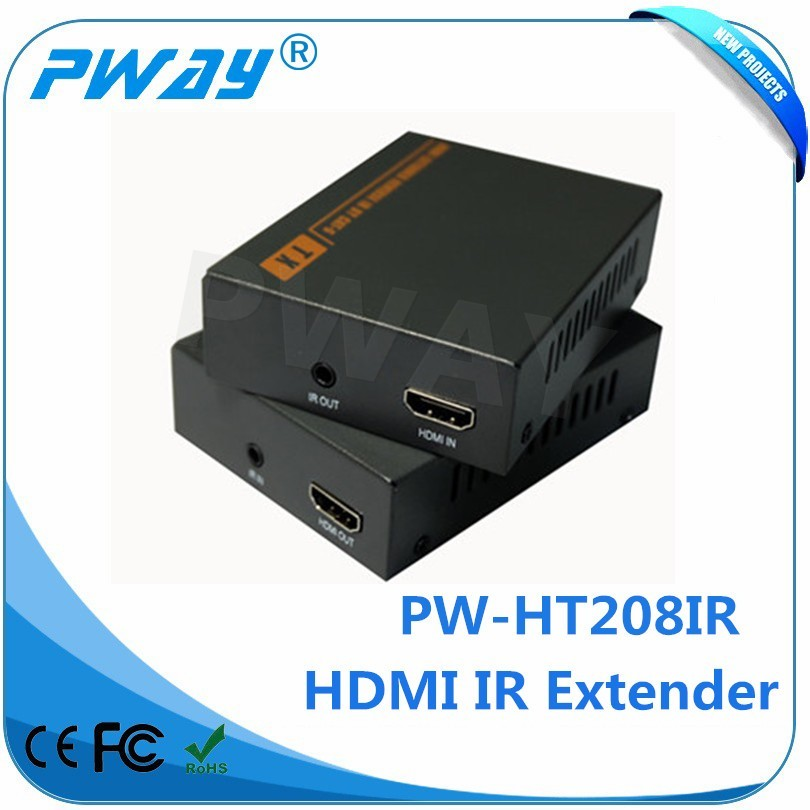 mouse and keyboard HDMI extender Pinwei PW-HT208 IR HD Video Sender Receiver 60m HDMI Extender
