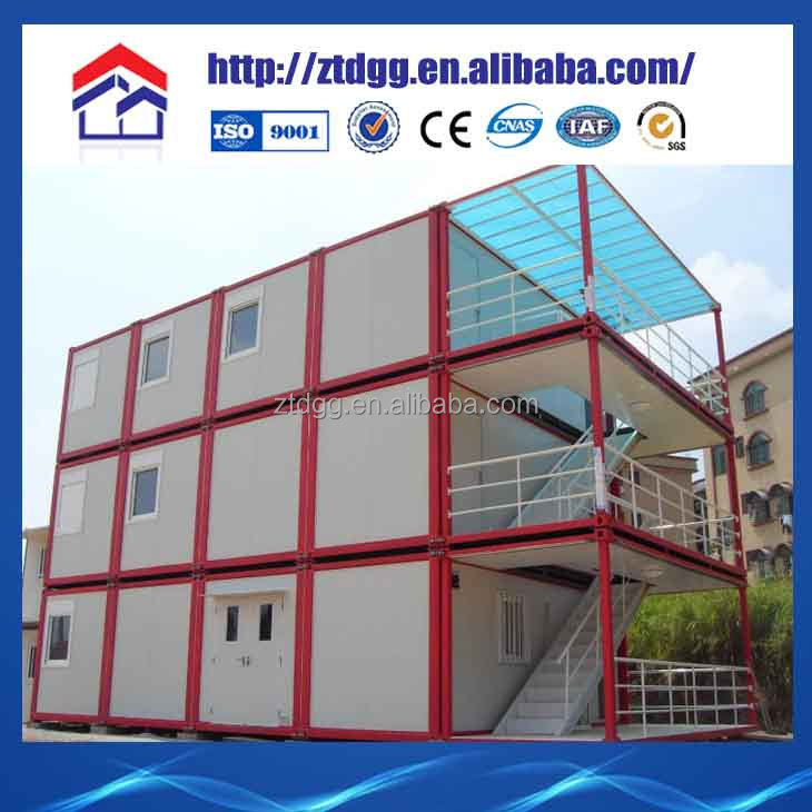 Prefab shipping container house steel container buildings for accommodation buildings steel structure construction price