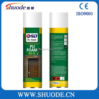 Weather Resistance Pu Foam sealant for Window Fix