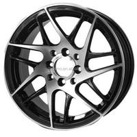 Black Chrome 15 inch New Design Cars Alloy Wheels