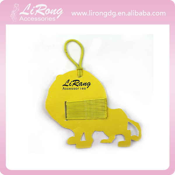 Yellow Dog Package with Yellow Bobby Pins
