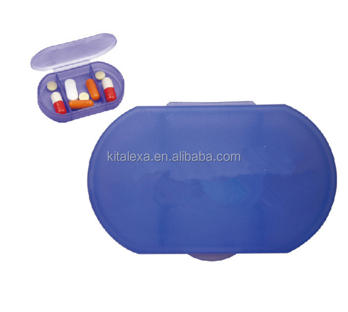 PP Material Small Pill Box Capsule Kit