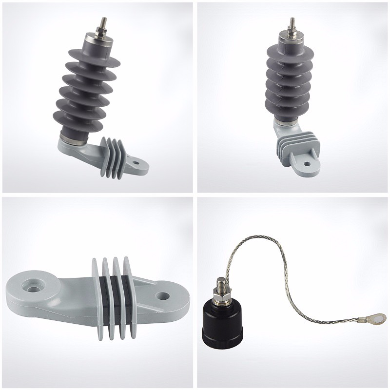 Manufacturer and Supplier 18KV 10KA 11 kv High Voltage types of building Power function of lightning arrester in substation