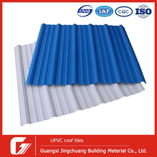 2.5mm plastic Isolation Building Material used corrugated roof sheet