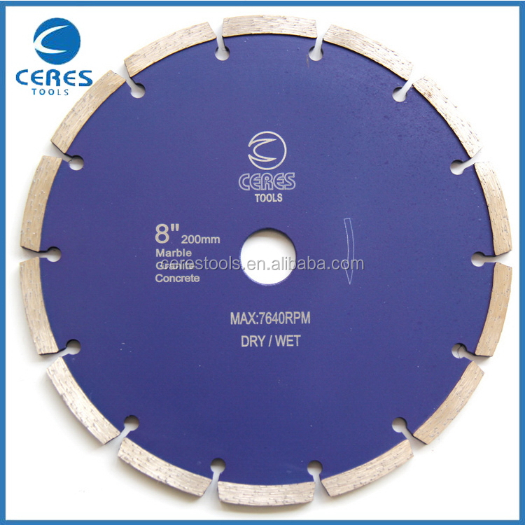 Best price hot sale circular curved diamond saw blade