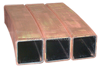 high quality copper tube, square customized copper mould tube manufacturer