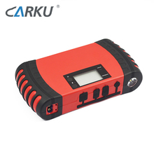 15000mAh car battery booster built-in intelligent protection portable multi-function powerbank jump starter with LCD displayer