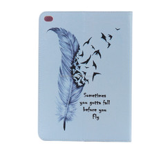 New Waterproof And Shockproof Customized Printing PU Leather Tablet Case for ipad 6