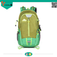 fashion high quality internal stent sports climbing backpack bag travelling backpack with rain cover