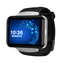 Dual Core touch screen watch mobile phone WiFi GPS smart watch DM98 With GSM/WCDMA 2G /3G SIM Card Slot Camera Android 4.4 Phone
