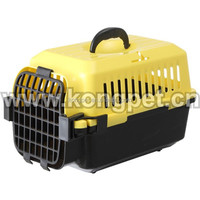 Hot sale big American style plastic flight pet carrier /dog crate CA003