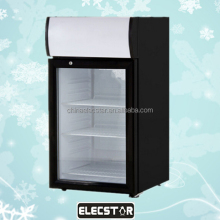 Single-temperature Style and CE,UL Certification Portable refrigerated display cooler, advertising promotion coolers