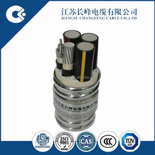VDE BS Certificate 8.7/15 KV AC90 Armoured Aluminum Alloy Cable For Europe Market