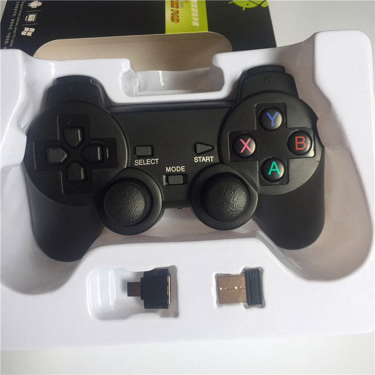 2.4G Wireless gamepad for ps2 Compatible ps2 and built in lithium battery