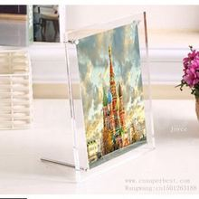 custom magnetic new style clear big acrylic wedding photo frame