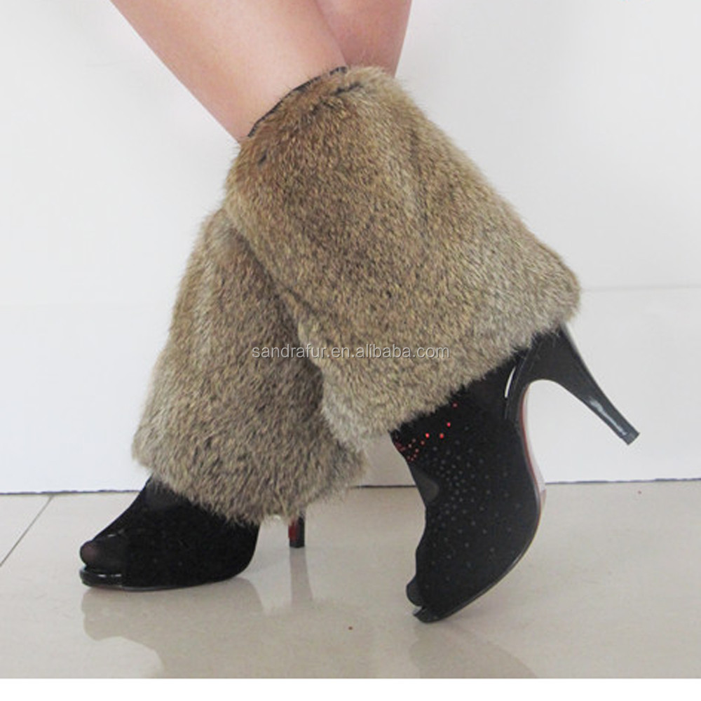 SJ091-03 Apparel 20CM Fur Warmers Hosiery