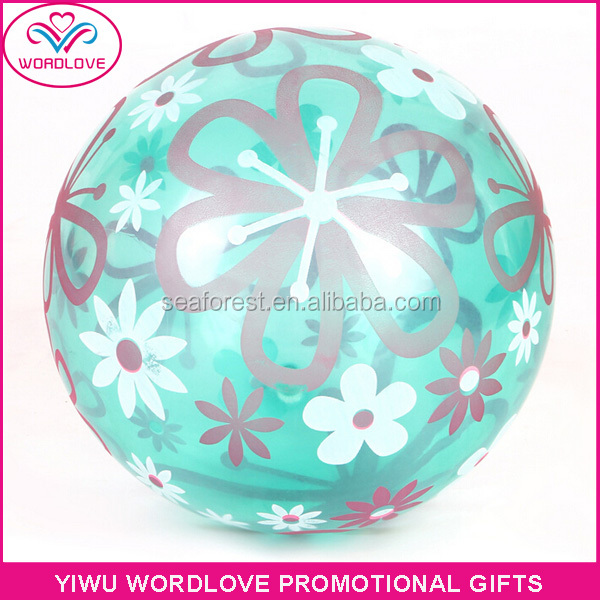 promotion advertising custom logo print pvc free beach ball/beach volleyball
