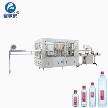 Mineral bottle plant filling machine cost/6000 bph water filling machine