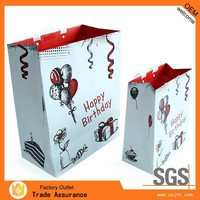 promotional dongguan made colorful plastic gift bag