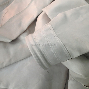 High quality fiberglass dust filter bag with PTFE membrane