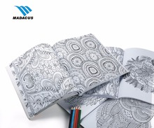 wholesale printing cheap perfect binding custom bulk blank coloring drawing book for adults