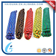 Cheap Colored Craft Polyester/Nylon Braided Utility Clothes Line Rope Price