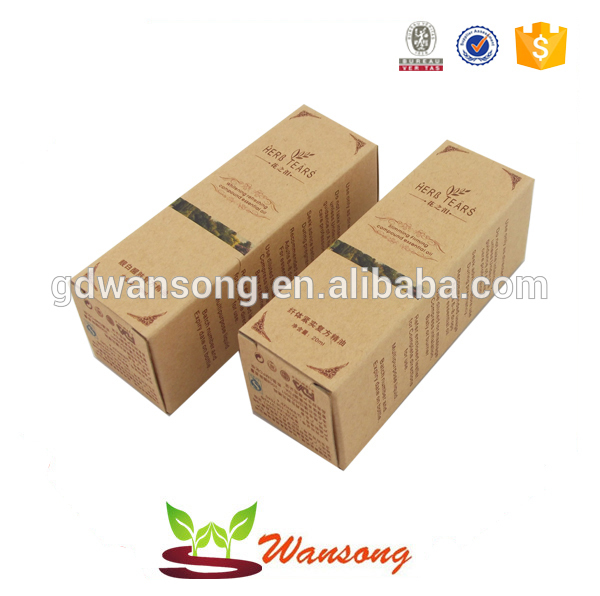 Factory supply kraft material paper box for gift,custom packing paper box