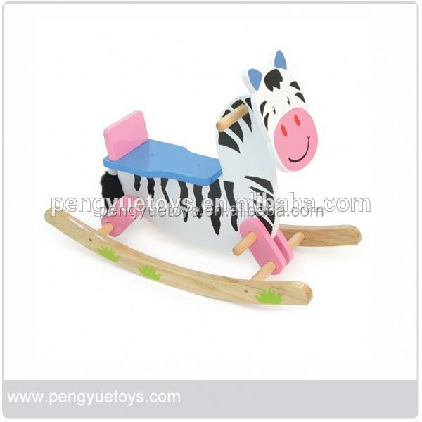 2015 New style comfortable rocking horse stuffed with pp cotton