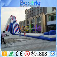 15m high big water slides for sale, used fiberglass water slide for sale