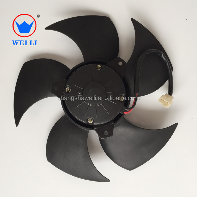 high technology dc brushed cooling fan for denso air conditioner bus