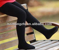 Hot sale fancy child/girls pantyhose/tights/legging solid color