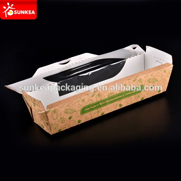 Take Away Hot Dog Boxes With Window Buy Take Away Food