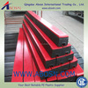2015 hot sale rubber conveyor impact bar/buffer strip