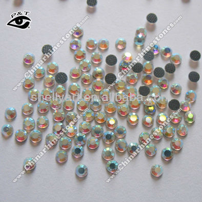 Copy korean rhinestone hotfix loose strass 4mm ss16 crystal AB
