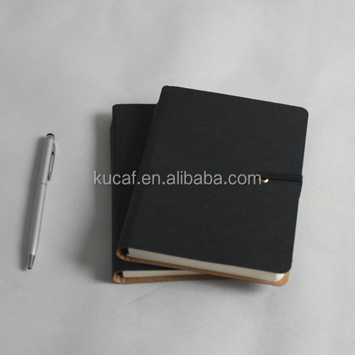 Latest notebook with pen inside