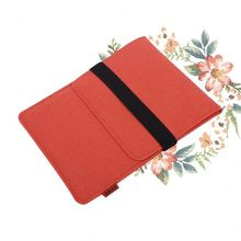 Ultra thin genuine leather belt document organization 17inch laptop bag sleeve for ipad mini