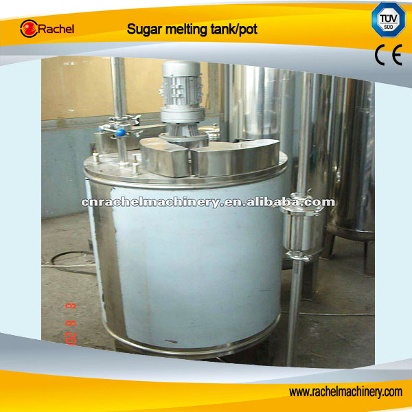 Sugar melting tank/pot machine