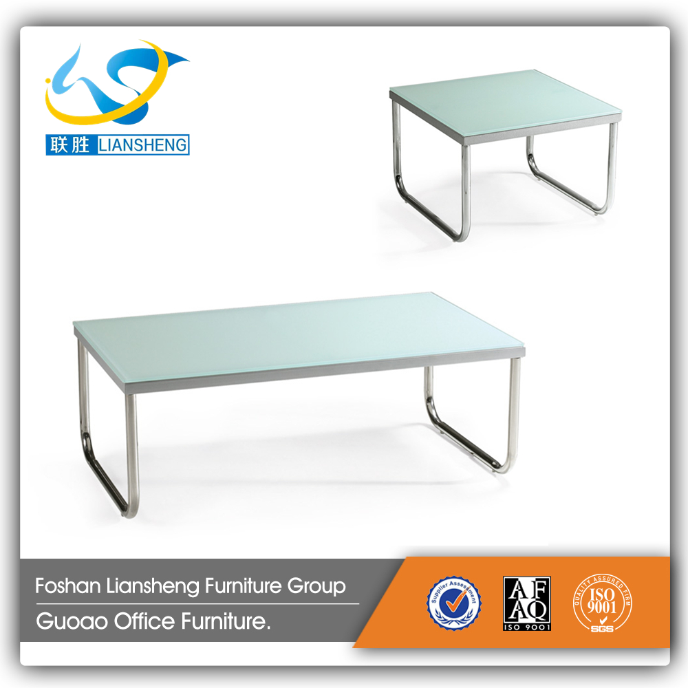 Hot saled glass office coffee table tea table CT01