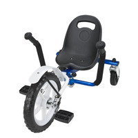 J-2 Plastic seat No Brake Unilateral Steering 12 Inch adult tricycle
