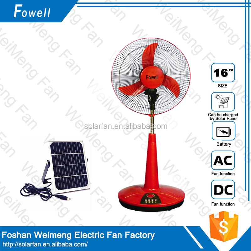 Hot sale dc brushless fan 12v solar powered outdoor fans with solar panel