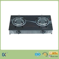 Wholesale Ceramic Glass Table 2 Big Infrared Ray Burner Gas Cooker
