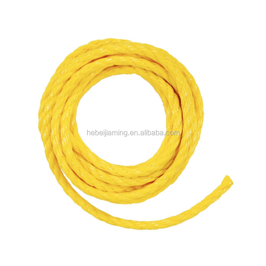 3 strand High tensile twisted camping safety rope