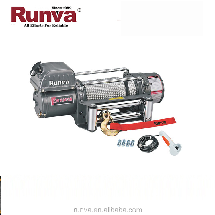 Runva Factory Sale High Current Switch Control Directly 12V Electric Capstan Winch