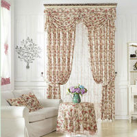 2016 china latest curtain fashion designs,ready made blackout curtains