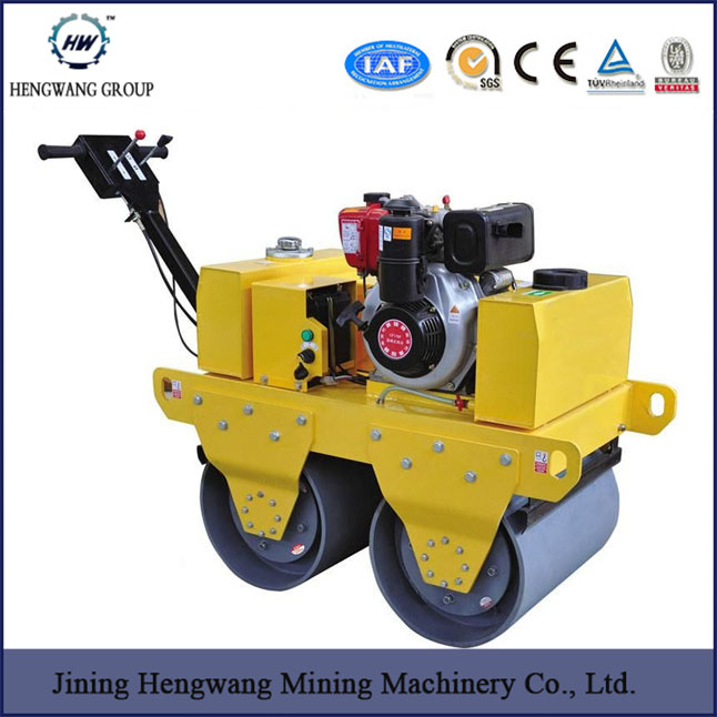 550kg Walk-behind Self-propelled Vibratory Road Roller(HW-650)