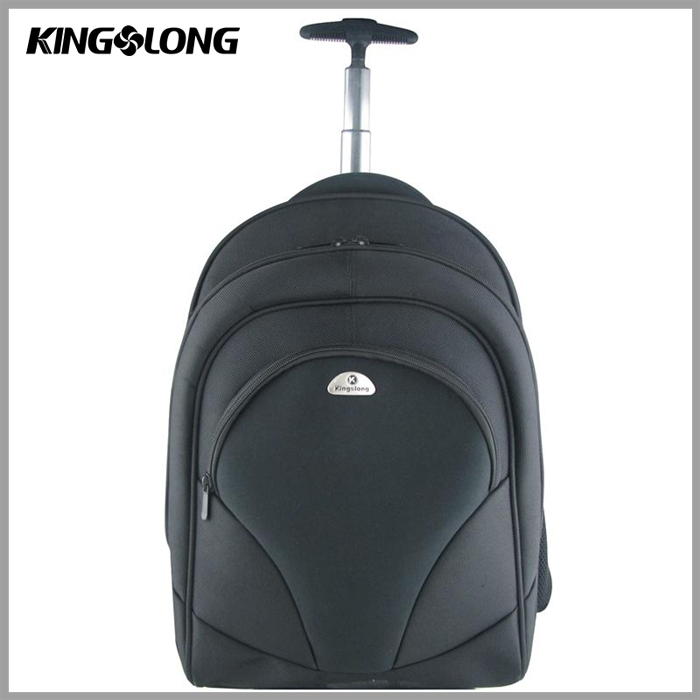 High quality durable lightweight waterproof laptop kids school trolley bag